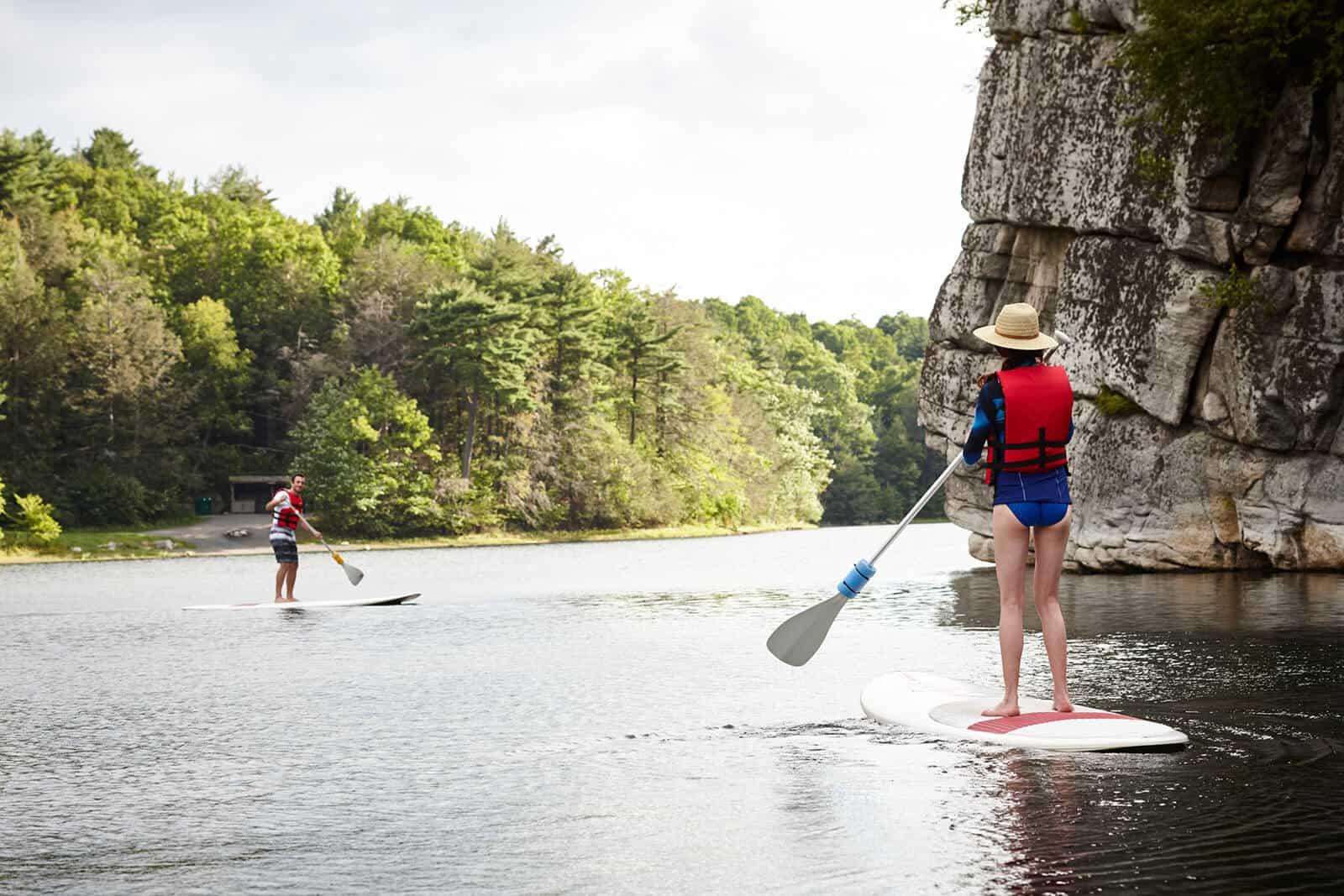 Paddleboarding - Mohonk Lake - Hudson Valley Getaway