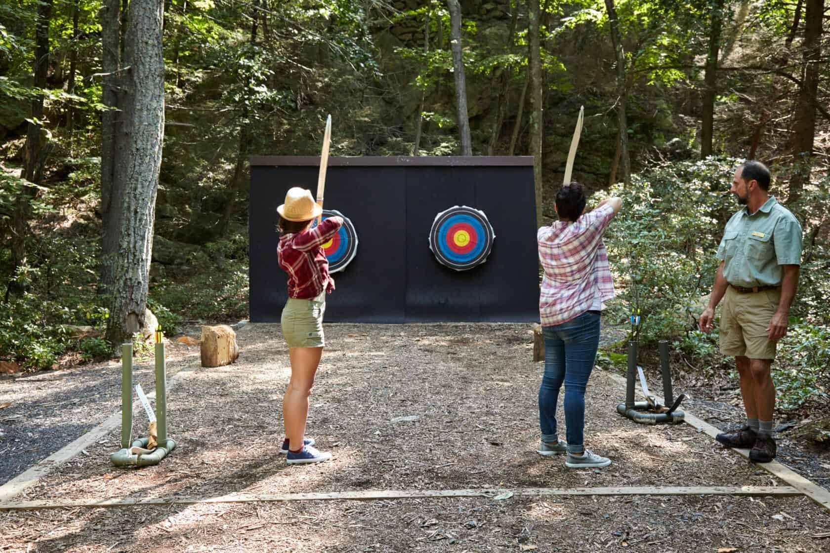 Archery - Outdoor Activities - Hudson Valley Getaway - Mohonk
