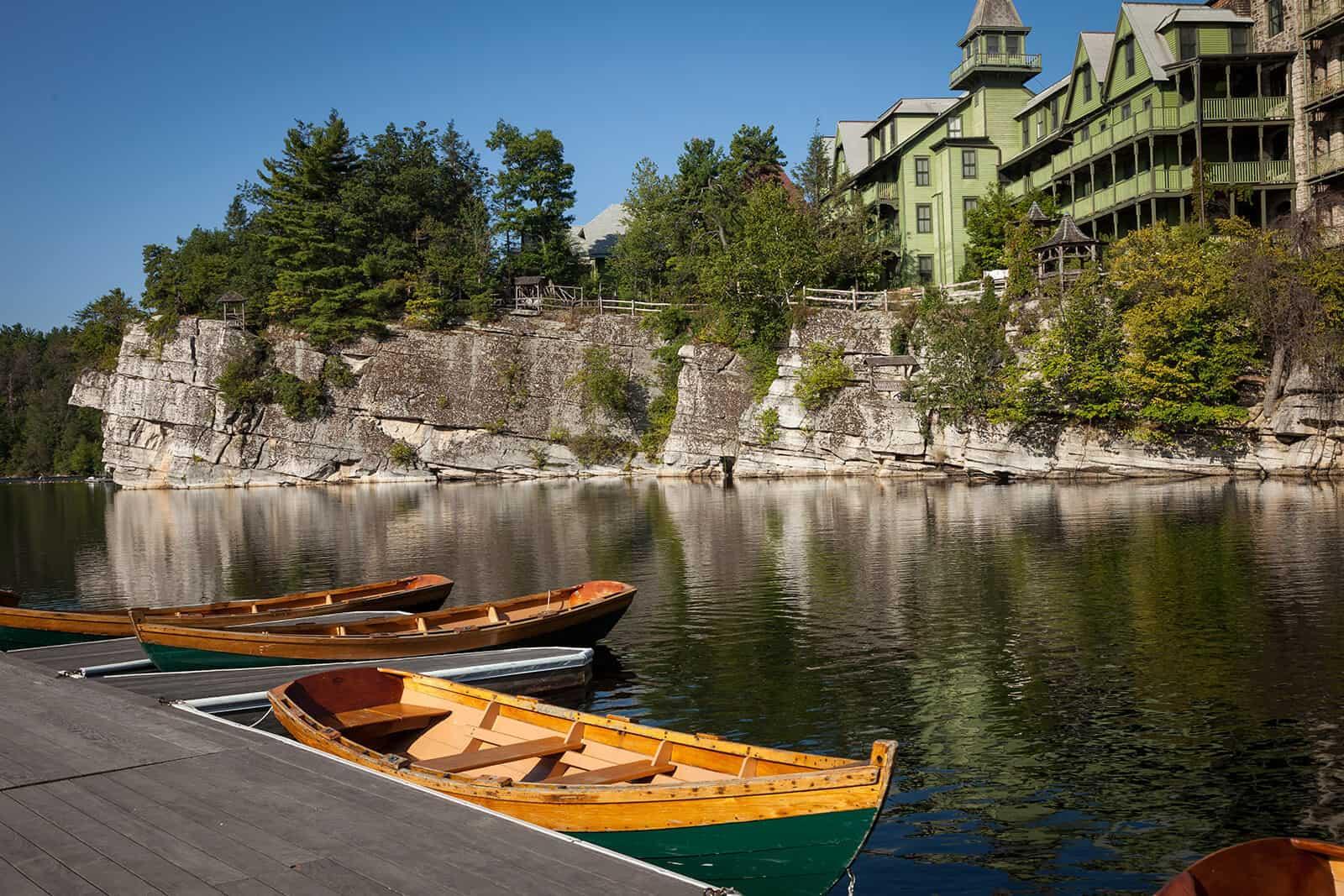 Mohonk canoe Lake