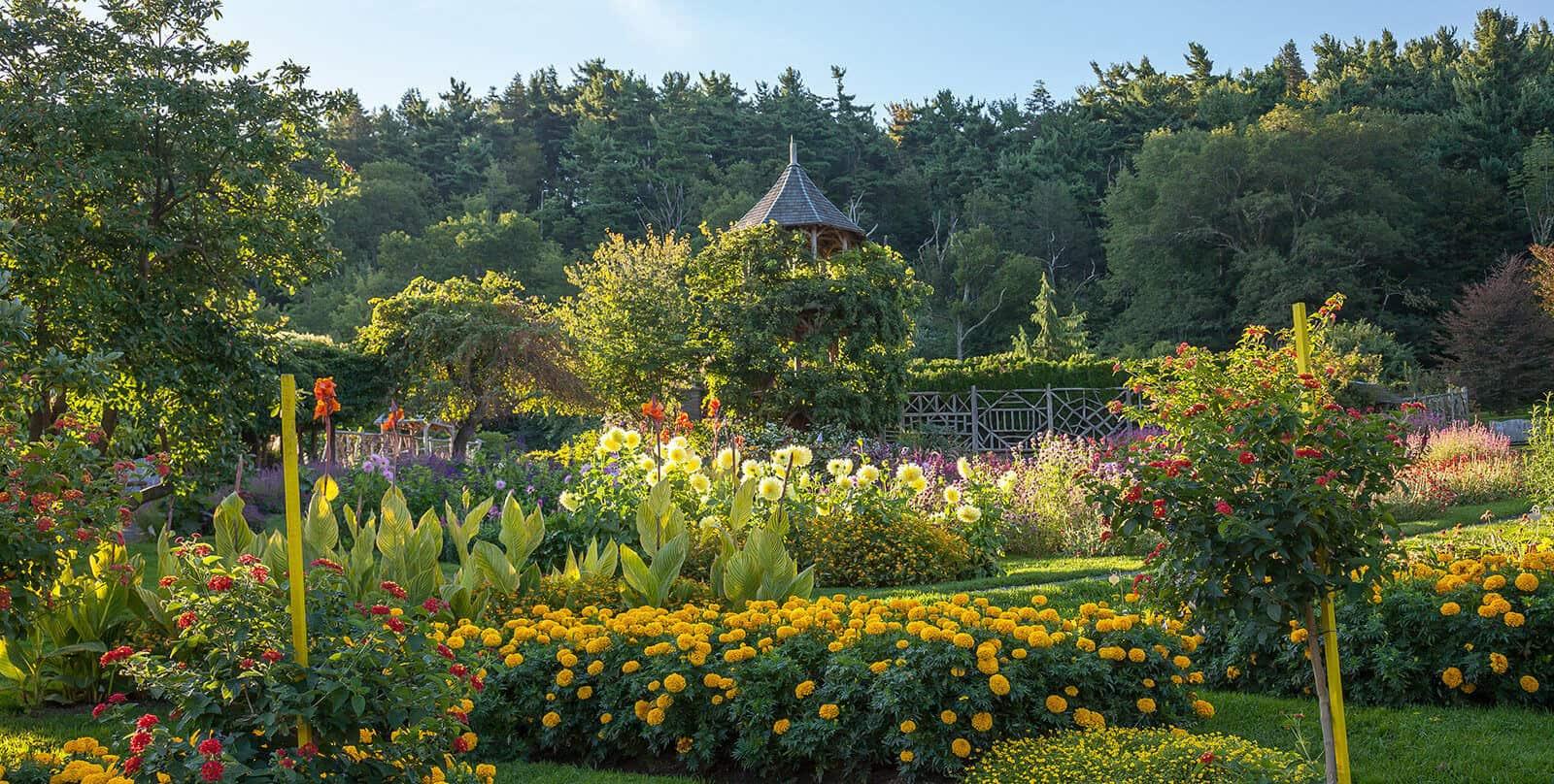 Mohonk gardens