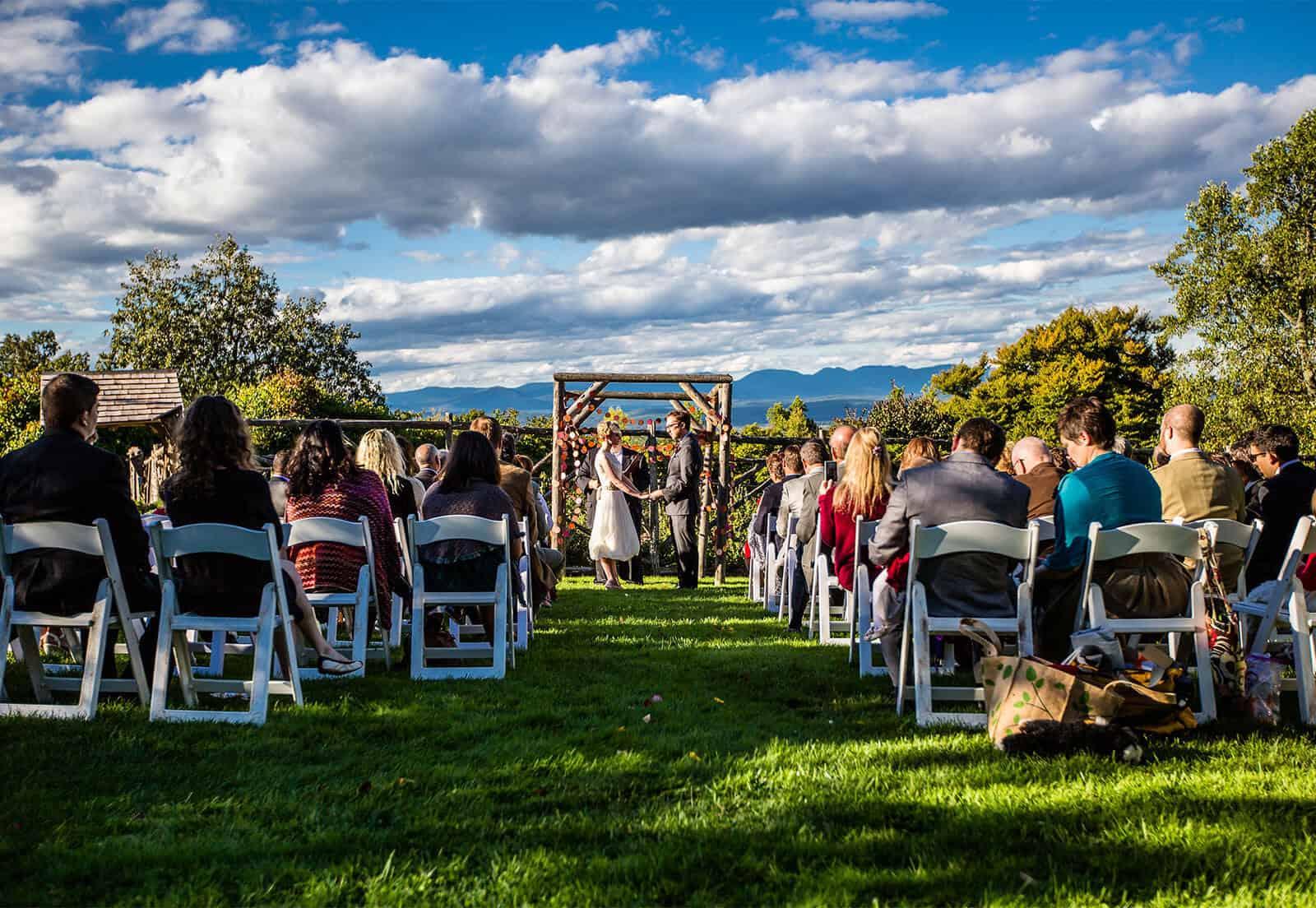 Outdoor Wedding at Mohonk Mountain House