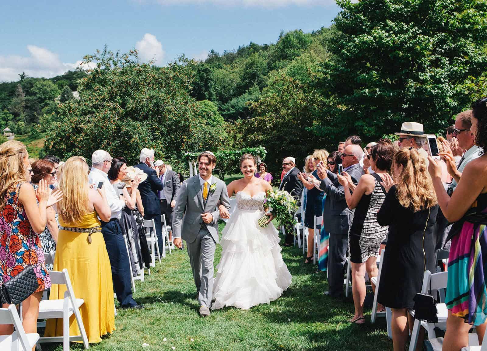 The Ramsdens' Mohonk wedding