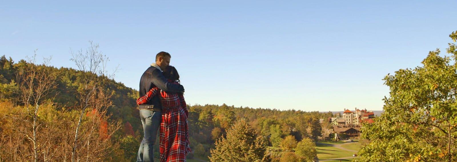 Couple's Fall Romantic Getaway