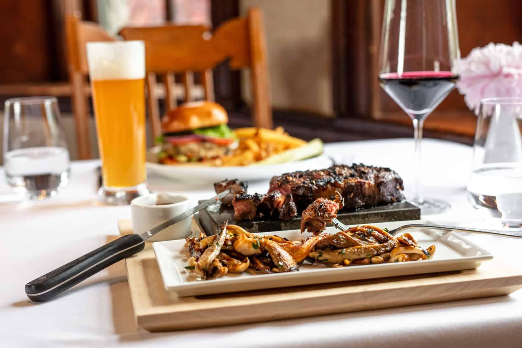 Mohonk Main Dining Room Steak Dish